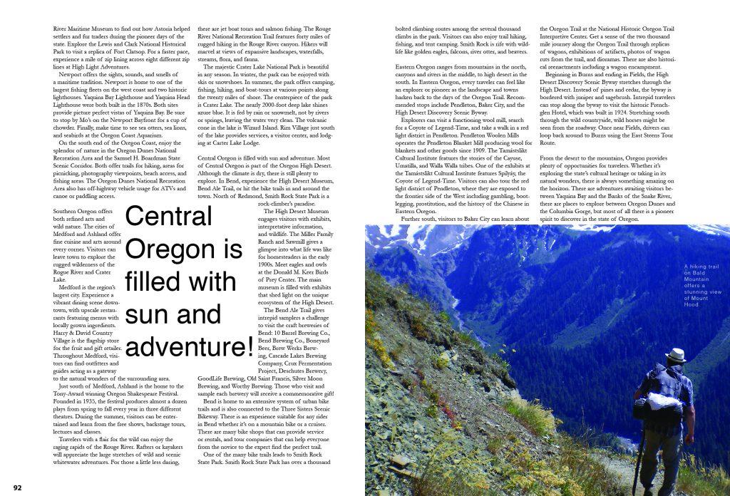 Exploring Oregon Spread 3